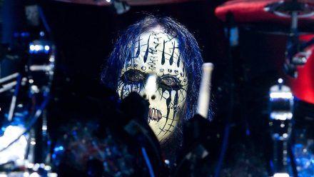 Joey Jordison während eines Auftritts im Jahr 2012 (wue/spot)