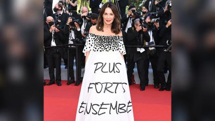 Iris Berben beim Filmfestival in Cannes.  (spot)