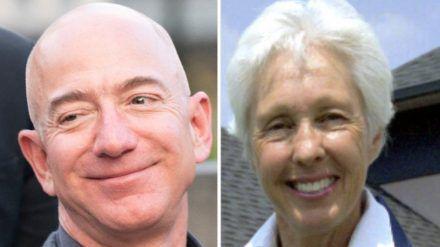 Jeff Bezos und Wally Funk werden zusammen ins All fliegen. (wue/spot)