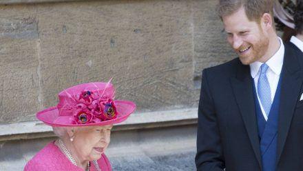 Feiert Prinz Harry 2022 mit der Queen ihr Thronjubiläum? (hub/spot)