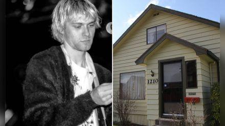 In diesem Haus verbrachte Kurt Cobain seine Kindheit. (eee/spot)
