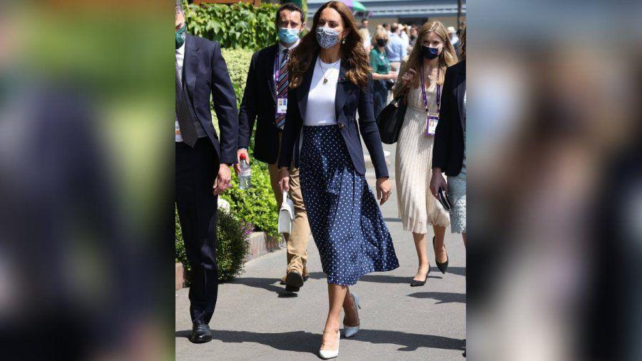 Herzogin Kate in Wimbledon (obr/spot)
