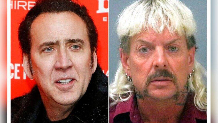 Nicolas Cage (l.) und Joe Exotic.  (smi/spot)