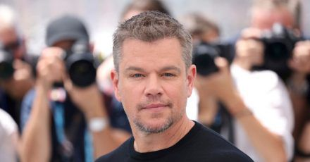 Schauspieler Matt Damon bei den 74. Internationalen Filmfestspielen in Cannes.