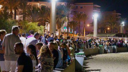 Nächtliche Partys unter freiem Himmel sind auf Mallorca bald wieder Geschichte. (eee/spot)