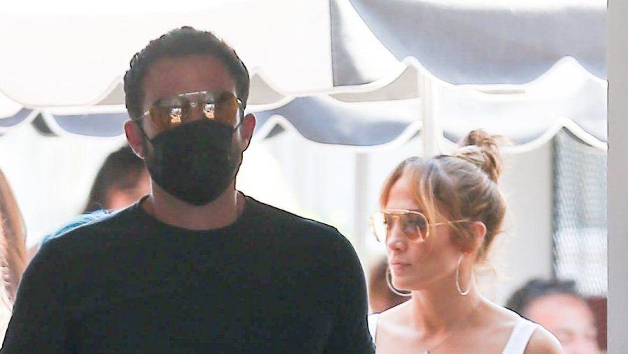 Ben Affleck und Jennifer Lopez vor wenigen Tagen auf Shopping-Tour. (dr/spot)