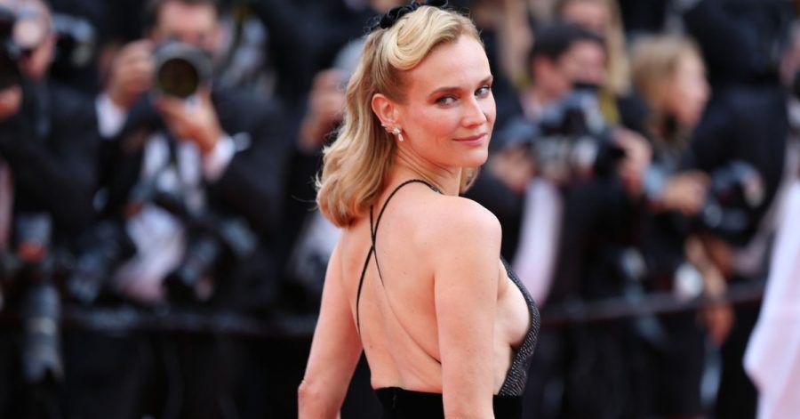 Diane Kruger auf dem roten Teppich beim diesjährigen Filmfestival in Cannes.