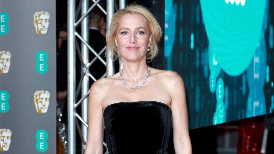 Gillian Anderson, hier auf einem Event im vergangenen Jahr, möchte nie wieder BHs tragen (wue/spot)