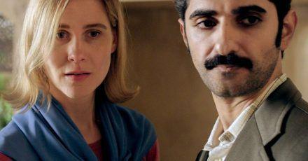 Die in der DDR lebende Chemikerin Beate (Katrin Röver) und ihr aus dem Iran stammender Mann Omid (Reza Brojerdi).