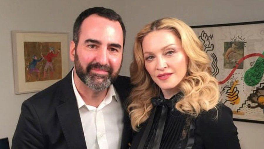 Auch Madonna traf Promi-Reporter David Modjarad schon zum Interview. (obr/spot)