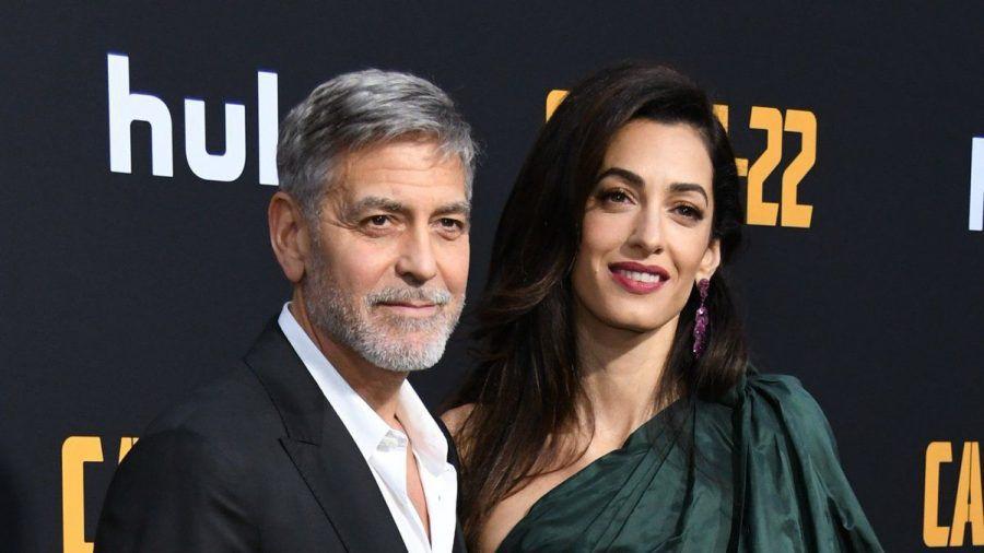 George und Amal Clooney sind seit 2014 verheiratet. (tae/spot)