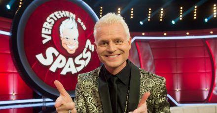 Guido Cantz empfängt wieder Promi-Gäste im «Verstehen Sie Spaß?»-Studio.