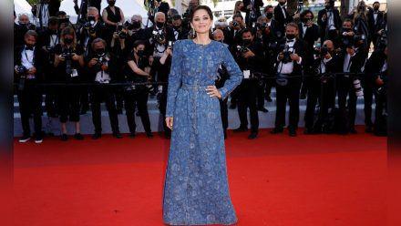 Marion Cotillard bei ihrem Auftritt in Cannes. (hub/spot)