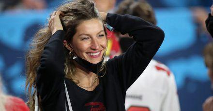 Gisele Bündchen freut sich über den Super-Bowl-Gewinn ihres Mannes Tom Brady.