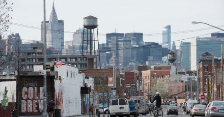 Greenpoint versprüht noch immer Industrie-Charme - doch die Aufwertung des Viertels ist längst im Gange.