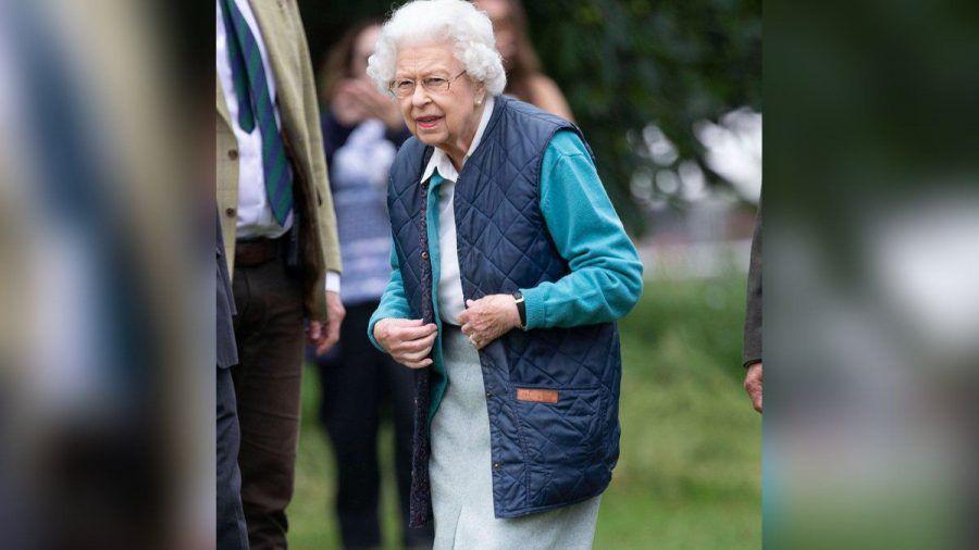 Die Queen bei der Royal Windsor Horse Show. (hub/spot)