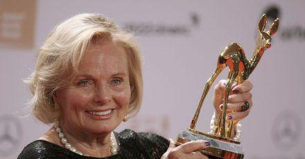 Für ihr Lebenswerk wurde Ruth Maria Kubitschek vor zehn Jahren mit einem Bambi ausgezeichnet.