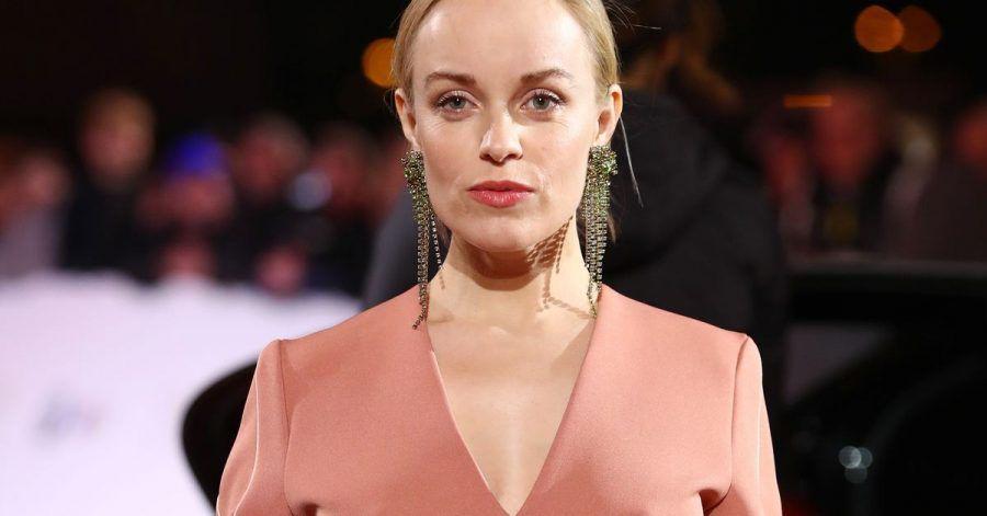 Schauspielerin Friederike Kempter 2018 bei der Verleihung der Goldenen Kamera.