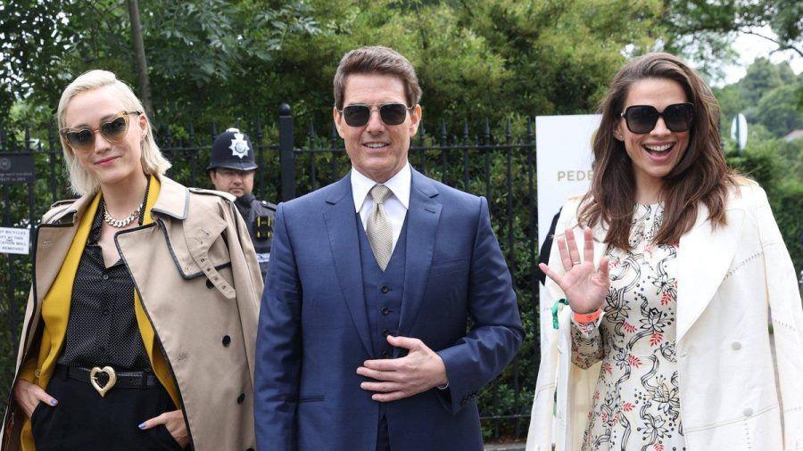 Tom Cruise besucht Wimbledon. (hub/spot)