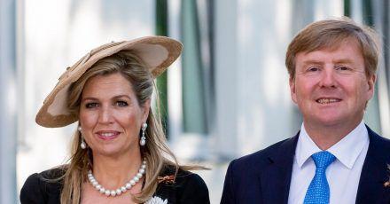 König Willem-Alexander und Königin Máxima der Niederlande besuchen Berlin.