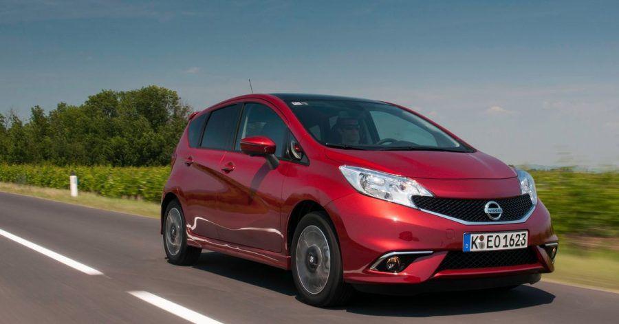 Den Note in zweiter Generation bot Nissan von 2013 bis 2017 in Deutschland an.