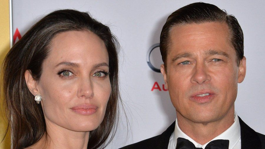 Angelina Jolie und Brad Pitt im Jahr 2015 (wue/spot)