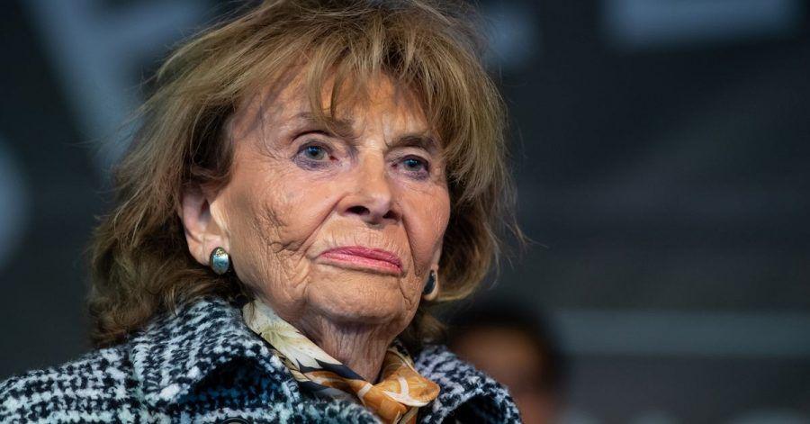 Charlotte Knobloch, früherePräsidentin desZentralrats derJuden.