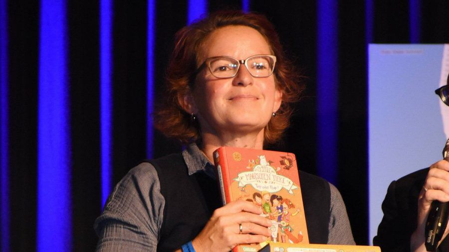 Margit Auer bei einer Preisverleihung in München. (hub/spot)