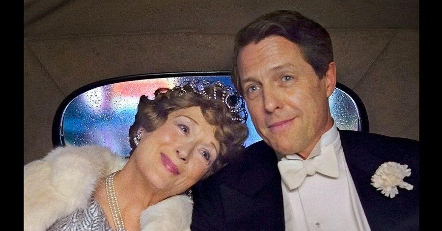 Florence Foster Jenkins (Meryl Streep) mit ihrem Partner und Manager St. Clair Bayfield (Hugh Grant).