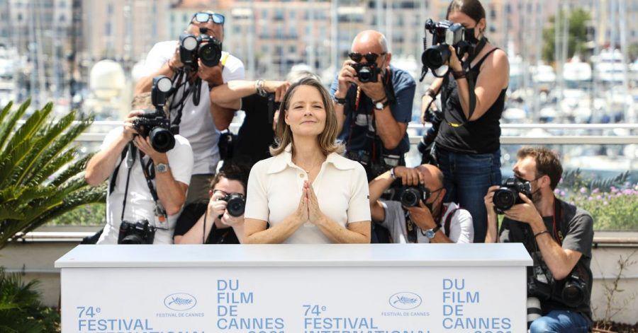 Hollywood-Glanz in Cannes:Jodie Foster wird beim Filmfestival mit einer Ehrenpalme ausgezeichnet.