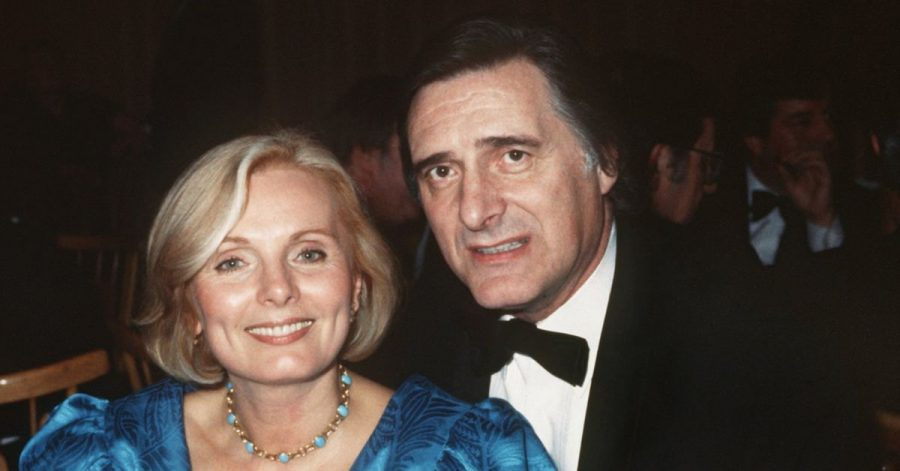 Die Schauspieler Helmut Fischer und Ruth Maria Kubitschek als Franz Münchinger alias Monaco Franze und seine Frau Annette von Soettingen.