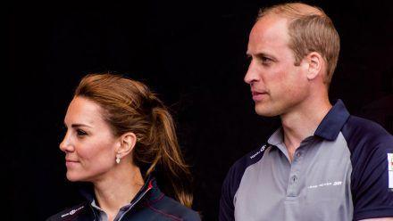 Prinz William und seine Ehefrau Herzogin Kate haben sich in einem Tweet zu den Überschwemmungen geäußert. (jom/spot)