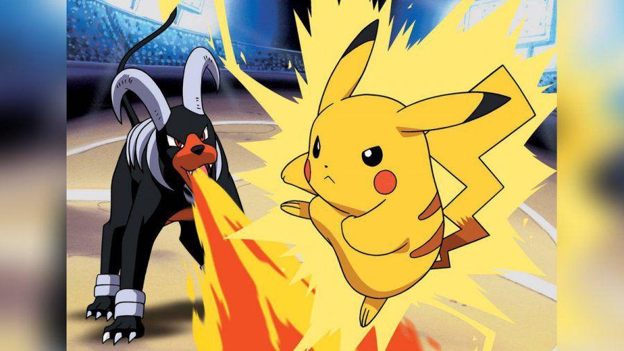 """Das wohl bekannteste """"Pokémon"""", Pikachu (r.) (smi/spot)"""
