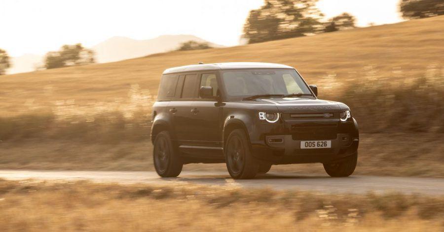 Brummer mit dickem Triebwerk: Land Rover baut in den Defender einen V8 mit 525 PS ein.