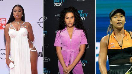 Megan Thee Stallion, Leyna Bloom und Naomi Osaka bekommen jeweils ihr eigenes Cover. (rto/spot)