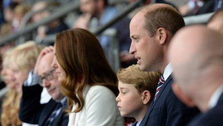 Auch die Royals schauten live beim EM-Endspiel England gegen Italien live in Wembley zu.  (nra/spot)