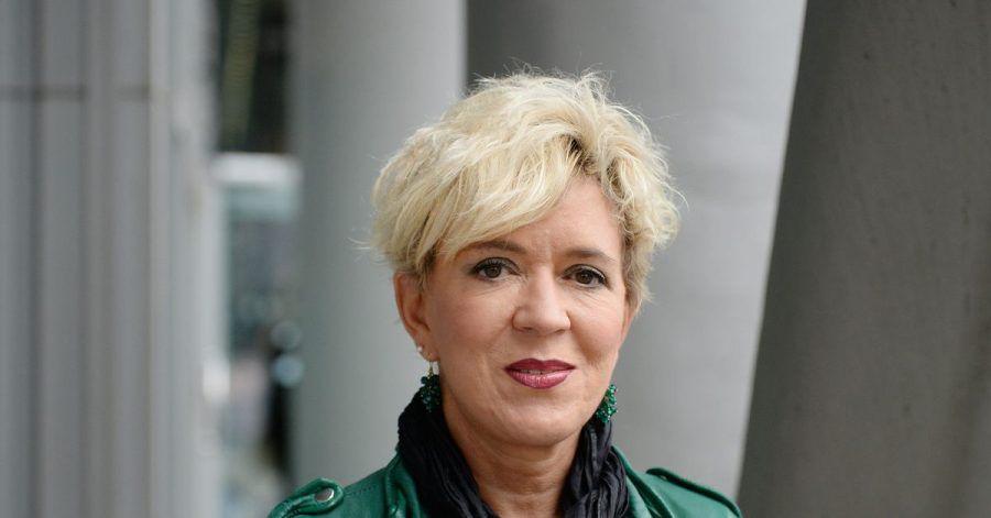 Petra Reski auf der Frankfurter Buchmesse 2015.