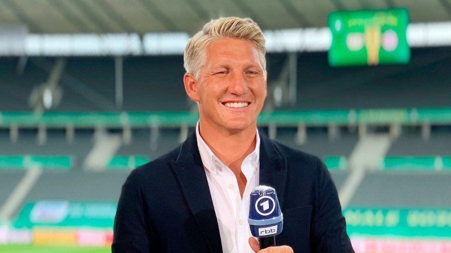 Bastian Schweinsteiger ist weiter Fußball-Experte der ARD. (hub/spot)
