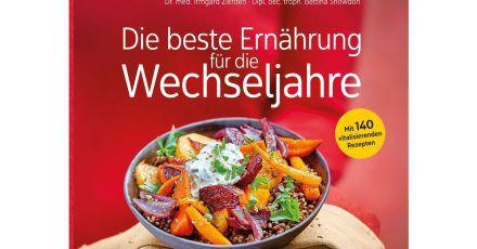 Irmgard Zierden, Bettina Snowdon: «Die beste Ernährung für die Wechseljahre», Trias-Verlag, 200 Seiten, 19,99 Euro, ISBN: 978-3432112022.