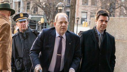 Harvey Weinstein bei seinem Prozess in New York. (hub/spot)