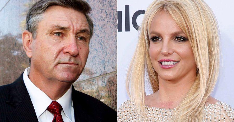 Jamie Spears (l) ist Britneys Vater und Vormund.
