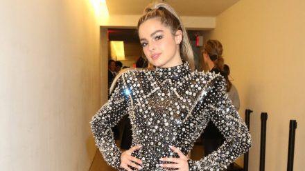 Addison Rae während der New York Fashion Week 2020