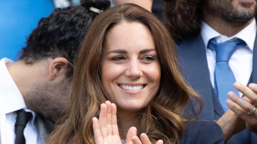 Herzogin Kate am Wochenende bei einem Tennisspiel in Wimbledon.  (ili/spot)