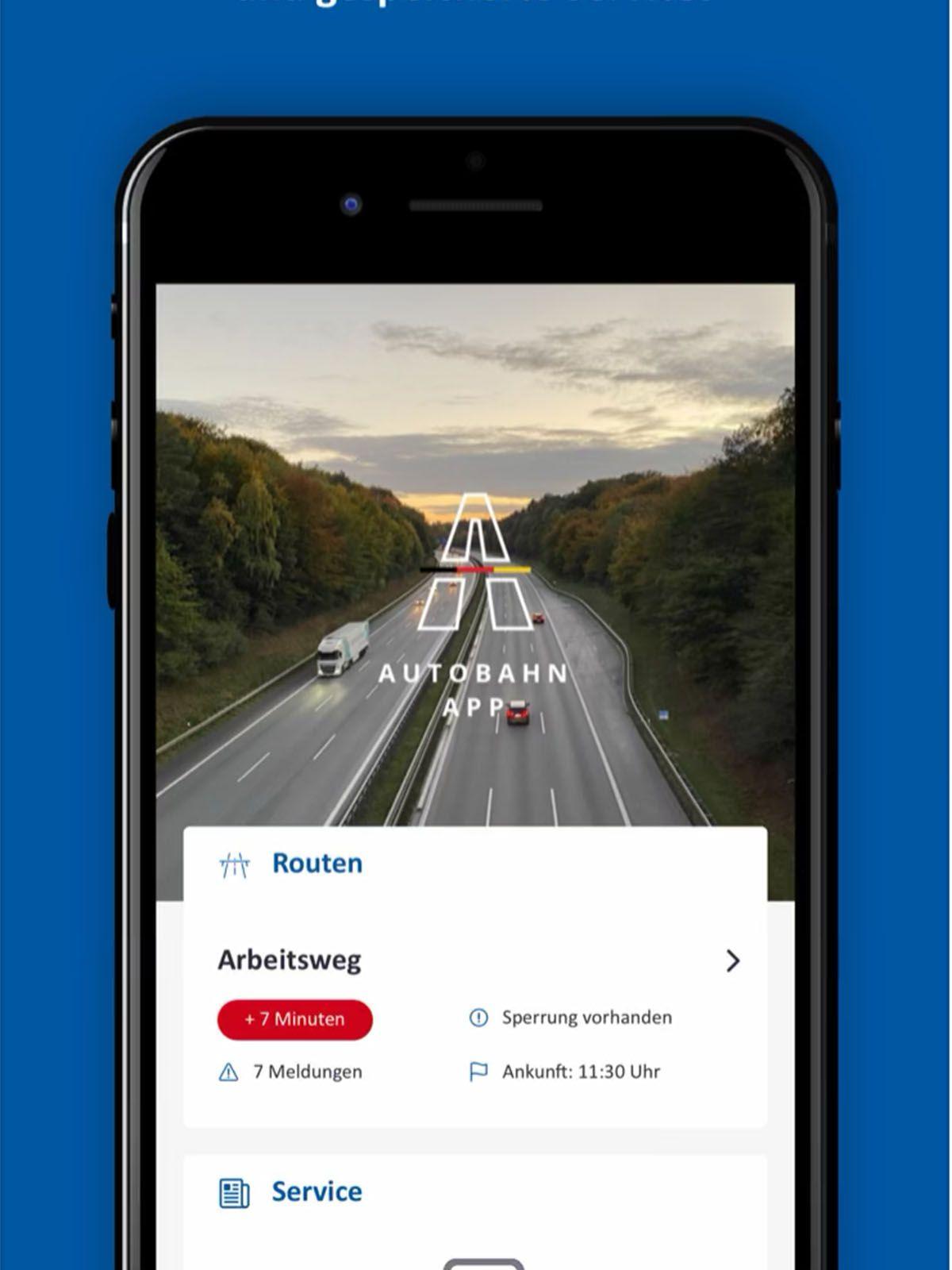 Das bietet die neue Autobahn-App des Bundes