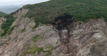 Das vom russischen Ministerium für Notfallsituationen zur Verfügung gestellte Foto zeigt Wrackteile des abgestürzten Flugzeugs.
