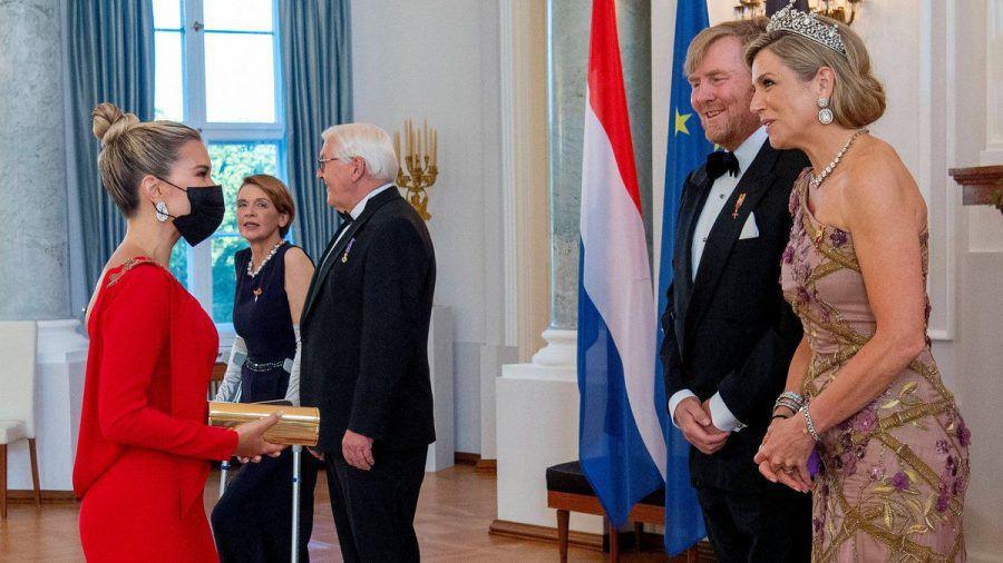 Sylvie Meis traf auf Königin Máxima der Niederland und König Willem-Alexander (rto/spot)