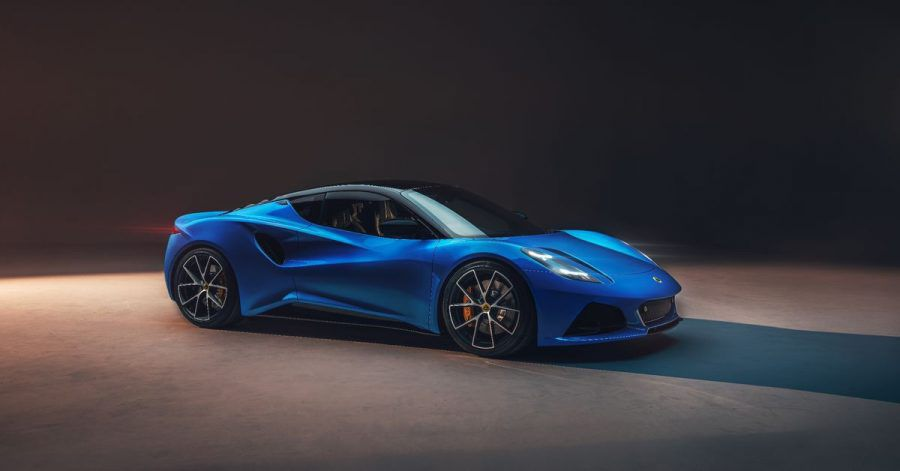Rollt im Frühjahr 2022 auf die Straße:Lotus hat sein neues Modell Emira präsentiert.