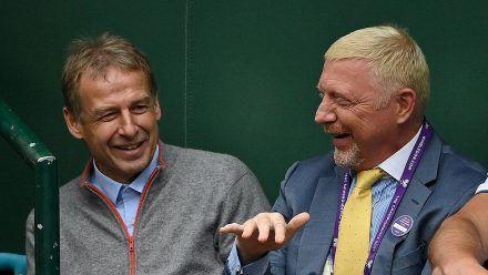 Boris Becker unterwegs mit Jürgen Klinsmann: Die Bilder!