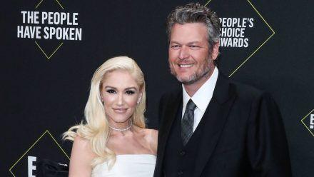 Seit 2015 sind Blake Shelton und Gwen Stefani schon ein Paar - jetzt läuteten die Hochzeitsglocken. (stk/spot)
