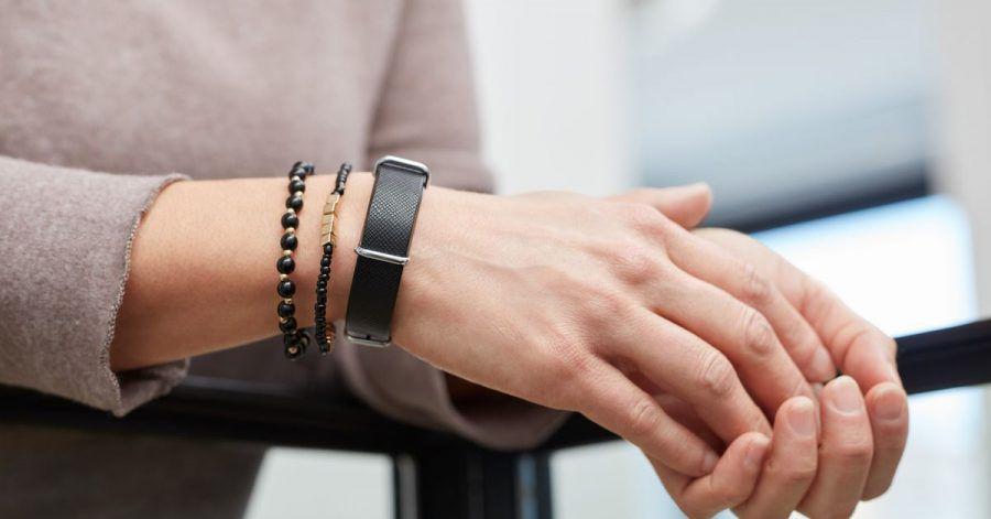 Mit diesem Armband von Aktiia lässt sich der Blutdruck durchgängig überwachen.